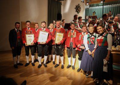 Auszeichnung Verdienstzeichen Blasmusikverband Tirol - Frühjahrskonzert 2019 - Musikkapelle Matrei-Mühlbachl-Pfons